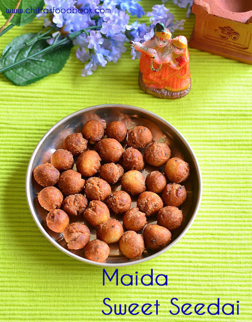 Maida Seedai Recipe – Sweet Seedai - Seedai Varieties - Gokulashtami Recipes