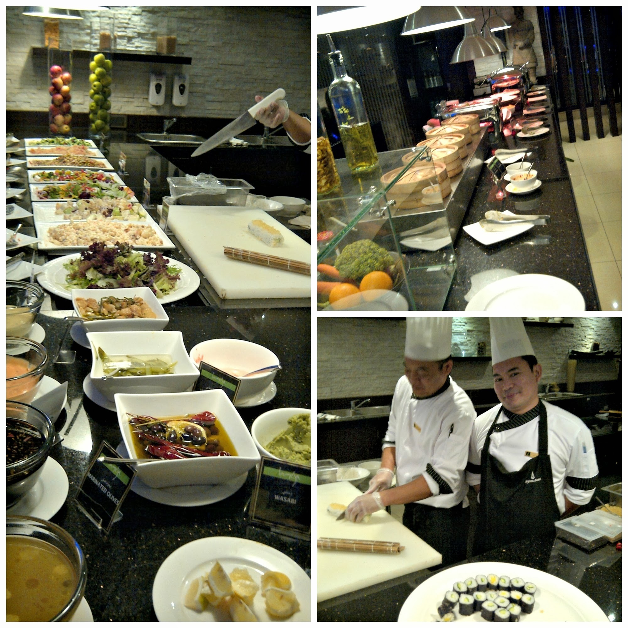 Dinner Buffet at Lamesa Restaurant