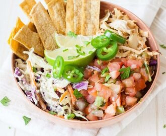 Vegan Fish Taco Bowl from Vegan Bowl Attack