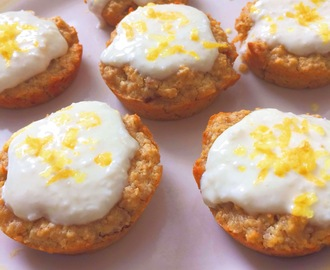 Healthy Skinny Lemon Muffins Recipe