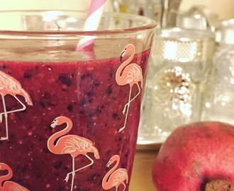 Smoothie d'Automne - Grenade Raisin