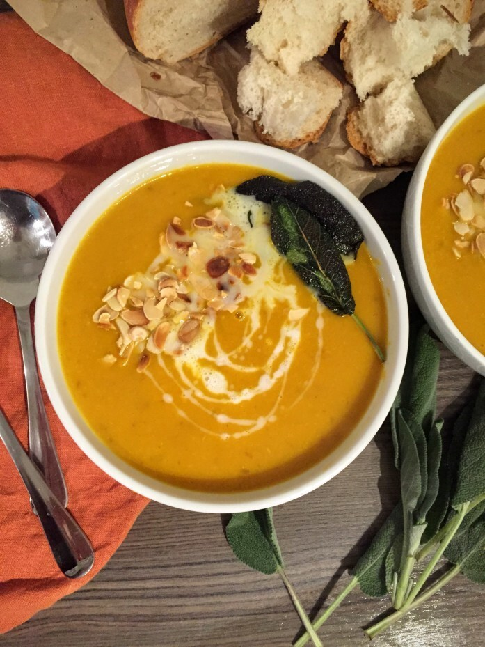 Butternut Squash, Turmeric and Coconut Soup