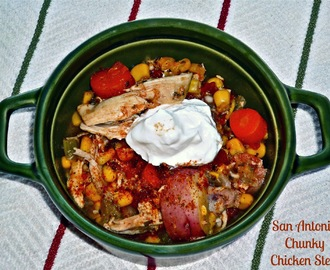 Slowly Bringing In the New Year With #SundaySupper...Featuring San Antonio Chunky Chicken Stew
