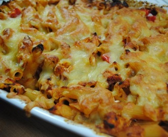 BBQ Chicken Pasta Bake Recipe
