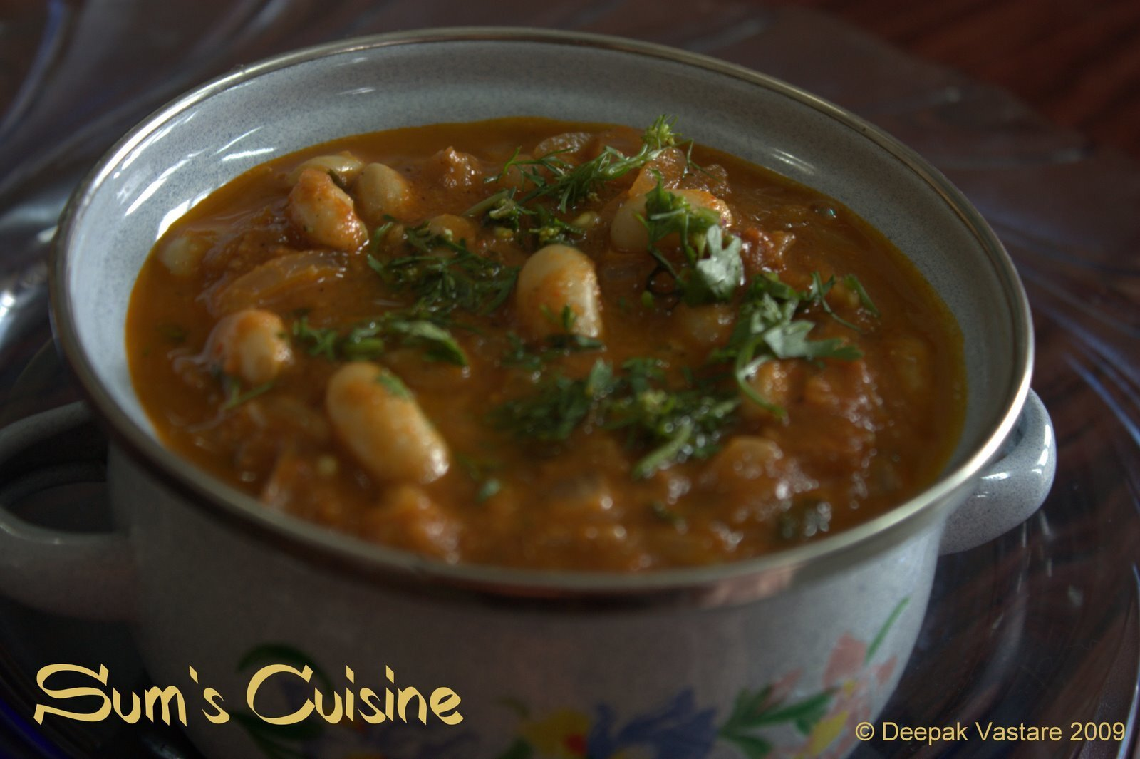 White Beans Masala - Cooking good things is so easy!