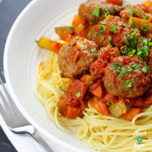 Low Syn Meatball Marinara | Slimming World