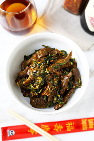 Hunan Beef With Cumin Recipe