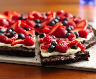 Fast Dessert Recipes - Raw Dessert Pizza Recipe - NUT FREE