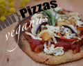 {Mini} Pizzas Veganas