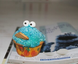 """C is for Cookie and Cookie is for me!"" – Krümelmonstermuffins"