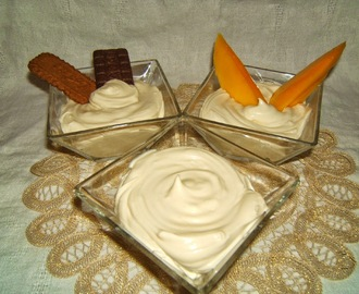 Vegan Crema chantilly, crema, Chantilly all'italiana o crema diplomatica