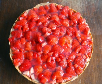 Vatertag ist Kuchentag: Strawberry-Cheescake.