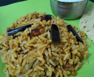 Vangi Baath (Brinjal rice)