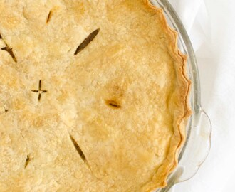 Basic Apple Pie Recipe (using fresh apples)