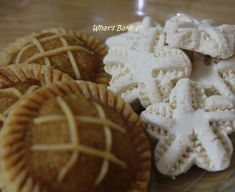 Pineapple Tarts, Love Letters and Kuih Bangkit