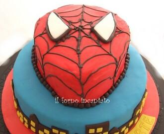 Ricette di decorazione torte effetto ragnatela mytaste for Decorazione torte spiderman