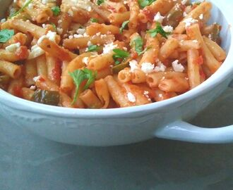 Sweet Chilli Macaroni with Smoked Mozzarella