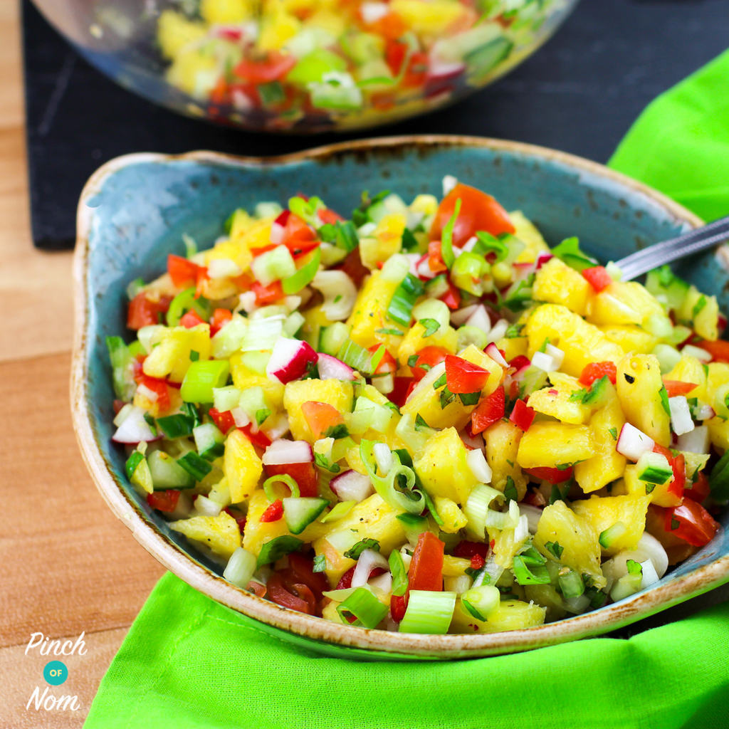 Syn Free Pineapple Salsa | Slimming World