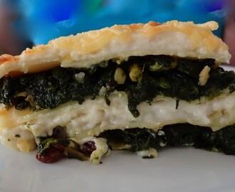 Recetas de lasa a de espinacas y queso fresco mytaste for Como se cocinan las habas