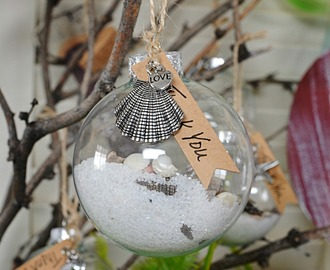 Sea Shore Christmas Ornaments