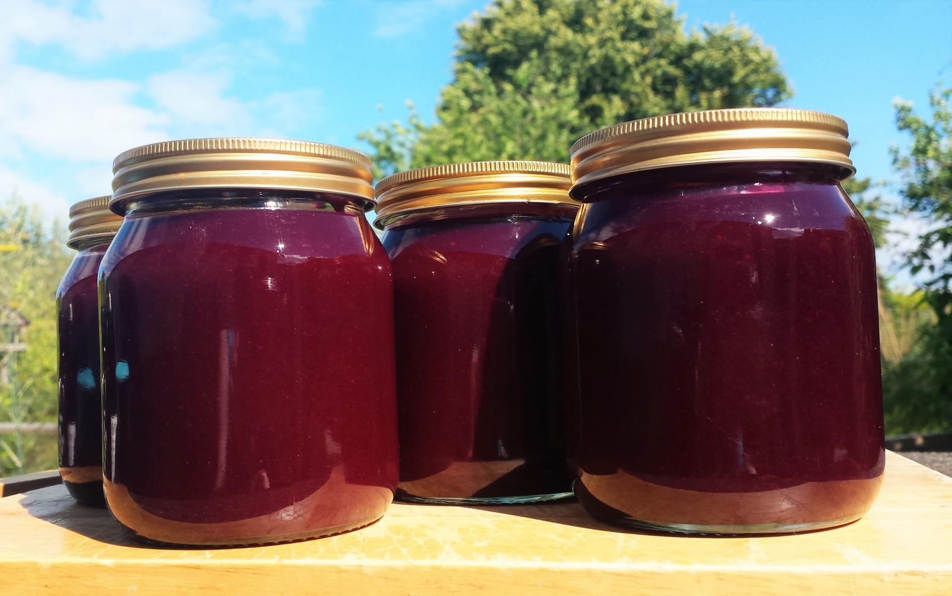 Homemade Blackcurrant Curd