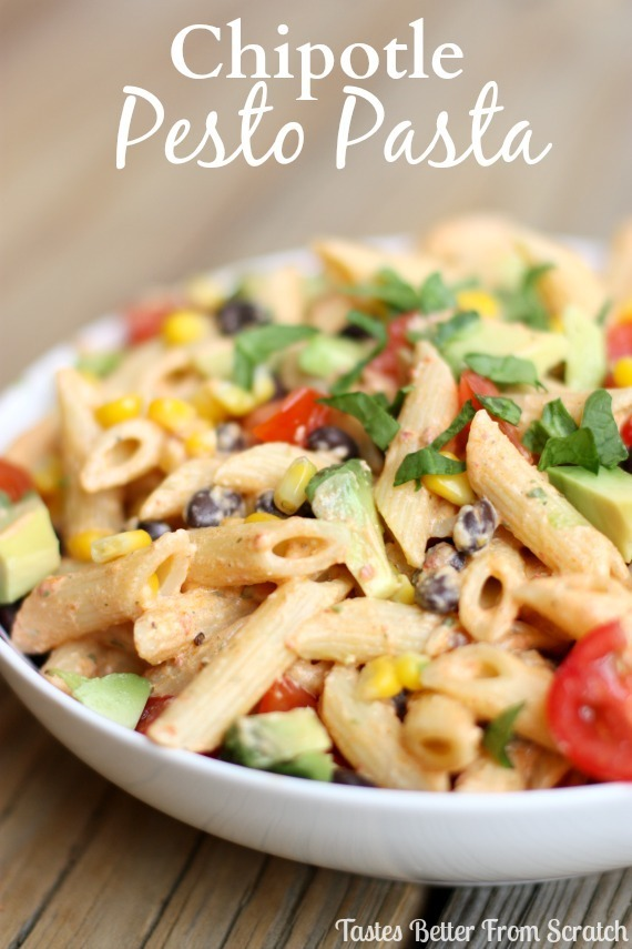 Chipotle Pesto Pasta