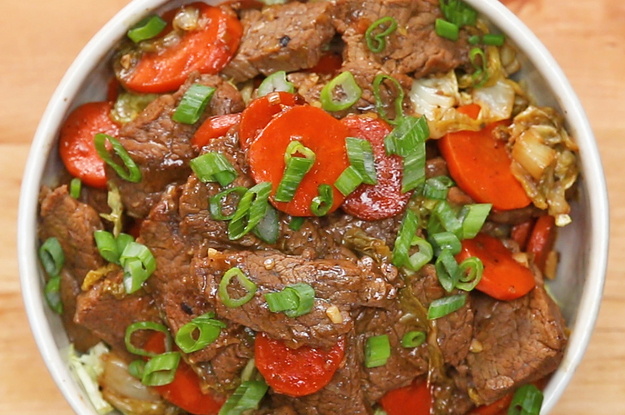 This Beef And Veggie Stir-Fry Is Perfect If You're Trying To Follow A Paleo Diet