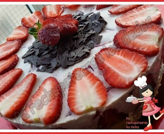 *Tarta de queso y chocolate blanco (thermomix)