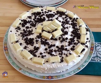 CHEESECAKE YOGURT  E CIOCCOLATO