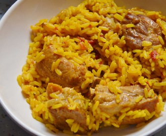 Arroz con costillas.