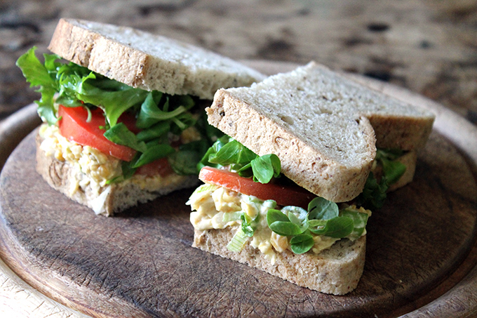 Recipe: Vegan Tuna Mayo Sandwich