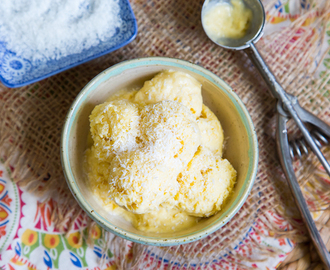Vegan Coconut Mango Ice Cream Recipe