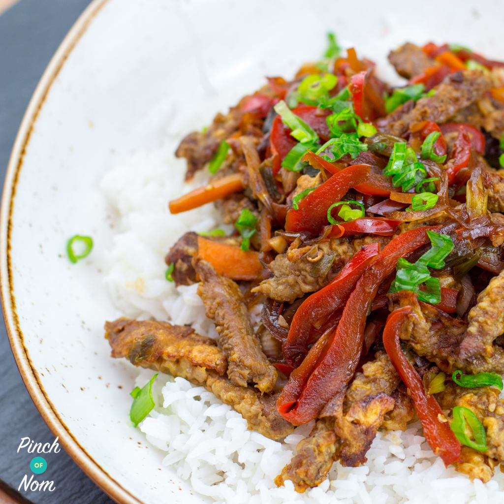 Low Syn Crispy Chilli Beef | Slimming World