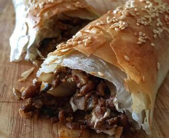 MARVELLOUS MIDDLE EASTERN FILO ROLLS