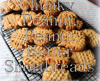 Peanut Butter Shortbread Biscuits