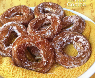 Rosquillas de chocolate