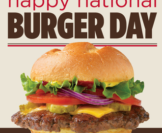 National Burger Day August 25th 2016