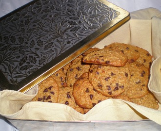 GALLETAS DE AVENA, NARANJA Y CHOCOLATE