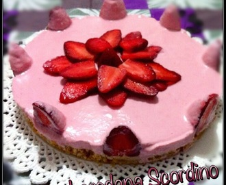 CHEESECAKE FIOR DI FRAGOLA