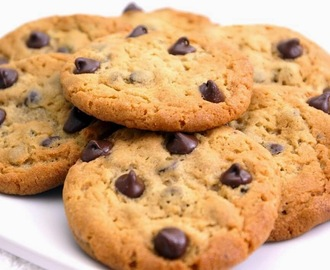 Receta: Galletas con chispas de chocolate