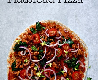 Spicy Turkish Flatbread Pizza (Lahmacun)