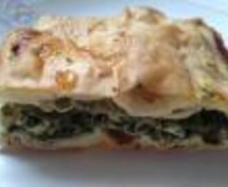 Turkish Borek/Filo Pastry with Spinach & Feta