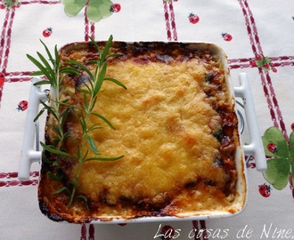 TARTIFLETTE o PASTEL DE QUESO, BACON  Y PATATAS (  Potato pie with cheese and bacon )