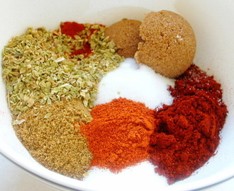 Spice Rub for BBQ