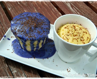 Mug Cake Chocolate Blanco