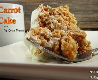 Carrot Cake: Easy - Healthier Recipe