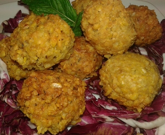 Falafel, finger food super proteico a tavola