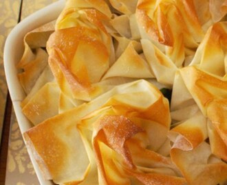 RECIPE: Filo Chicken Pie