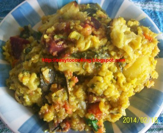 Shiter khichuri/Hotchpotch in winter