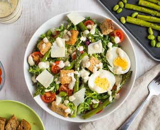 Ultimate vegetarian Caesar salad